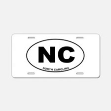 North Carolina State Aluminum License Plate