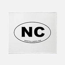 North Carolina State Throw Blanket
