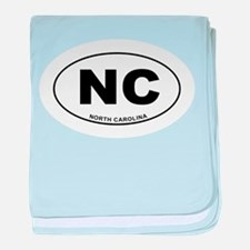 North Carolina State baby blanket