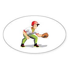 Baseball Player Decal