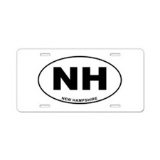 New Hampshire State Aluminum License Plate