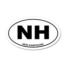 New Hampshire State Wall Decal