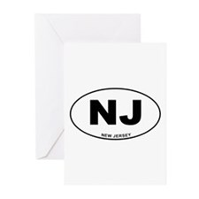 New Jersey State Greeting Cards (Pk of 20)