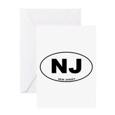 New Jersey State Greeting Card