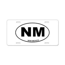New Mexico State Aluminum License Plate