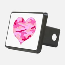 Pink Camo Heart Hitch Cover