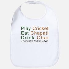 Cricket Chai Chapati Bib