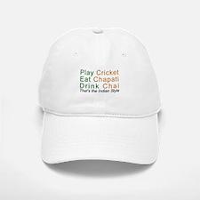 Cricket Chai Chapati Baseball Baseball Cap