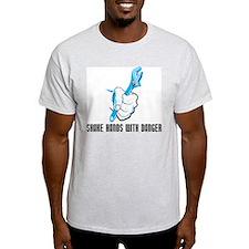 Shake Hands With Danger Ash Grey T-Shirt
