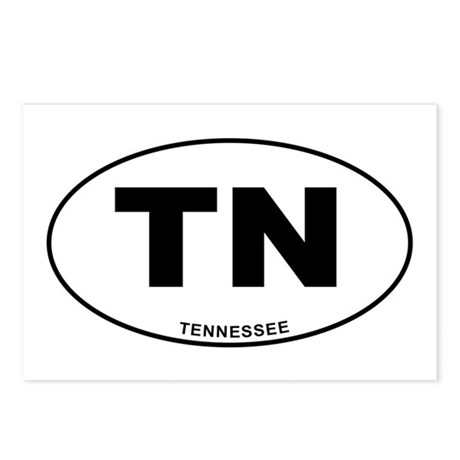 Tennessee State Postcards (Package of 8)