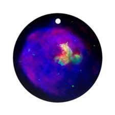 Supernova Remnant Ornament (Round)