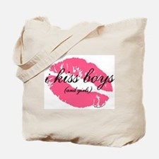 i kiss boys and girls Tote Bag