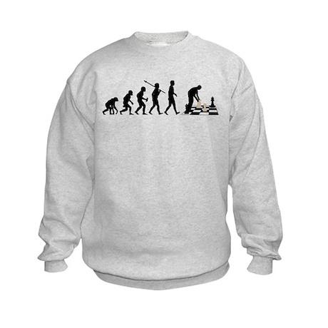 Chess Player Kids Sweatshirt