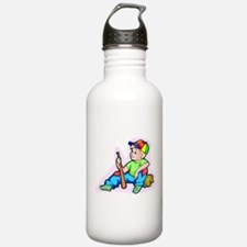 Baseball Kid Water Bottle