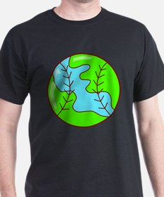 Baseball Earth T-Shirt