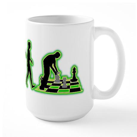 Chess Player Large Mug