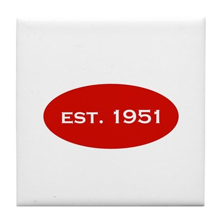 Est. 1951 Tile Coaster