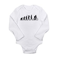 Cycling Long Sleeve Infant Bodysuit