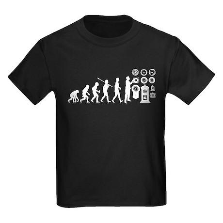 Clock Collecting Kids Dark T-Shirt