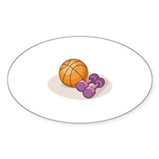 Basketball Weights Decal