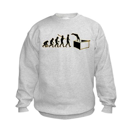 Dumpster Diving Kids Sweatshirt