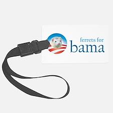 Ferrets for Obama Luggage Tag