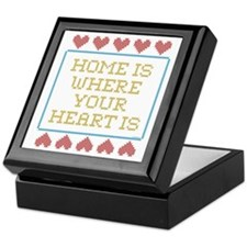 Where Your Heart Is Keepsake Box
