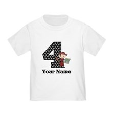 4th Birthday Pirate T