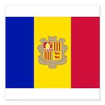 Andorra.jpg Square Car Magnet 3