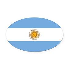 Argentina.jpg Oval Car Magnet