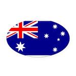 Australia.jpg Oval Car Magnet
