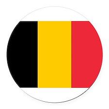 Belgium.jpg Round Car Magnet