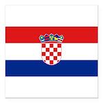 Croatia.jpg Square Car Magnet 3