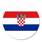 Croatia.jpg Round Car Magnet