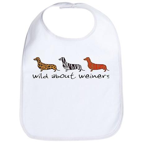 Wild About Weiners Bib