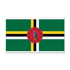 Dominica.jpg Rectangle Car Magnet