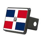 Dominican Republic.jpg Rectangular Hitch Cover