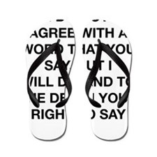 Your Right To Say It Flip Flops