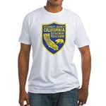California Game Warden Fitted T-Shirt