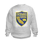 California Game Warden Kids Sweatshirt