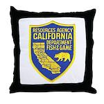 California Game Warden Throw Pillow