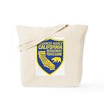 California Game Warden Tote Bag