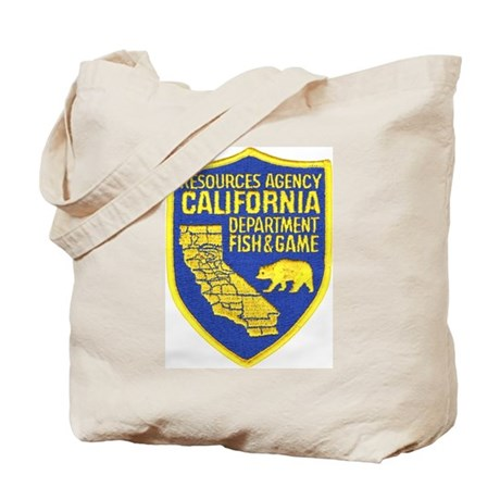 California Game Warden Tote Bag