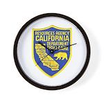 California Game Warden Wall Clock