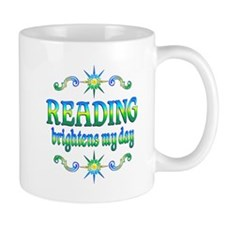 Reading Brightens Days Mug