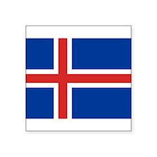 "Iceland.jpg Square Sticker 3"" x 3"""
