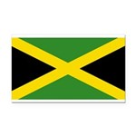 Jamaica.jpg Rectangle Car Magnet