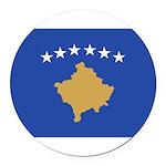 Kosovo.jpg Round Car Magnet