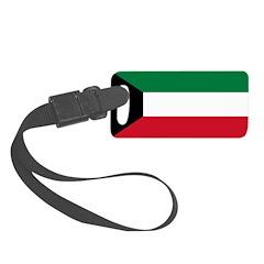 Kuwait.jpg Luggage Tag