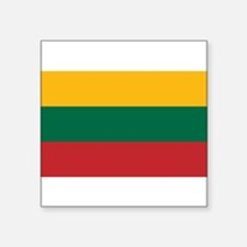 "Lithuania.jpg Square Sticker 3"" x 3"""